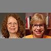 Photo of Patricia Brewer and Mary Beth Lakin